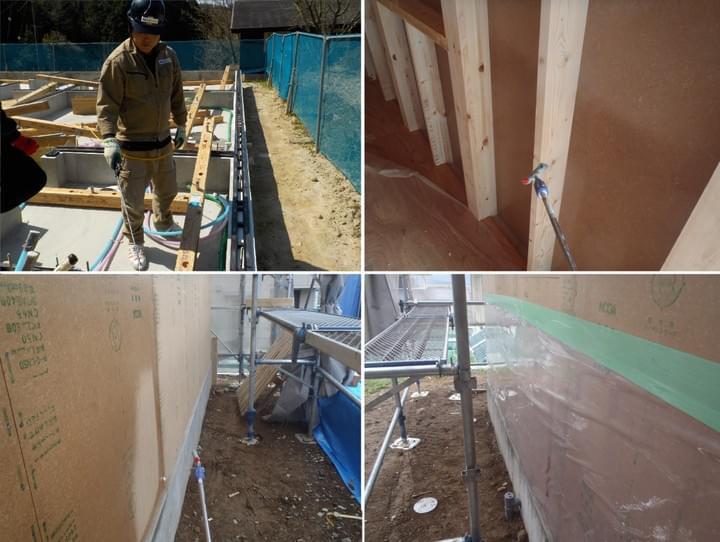 長期保証を確実にする正確・丁寧な新築工事